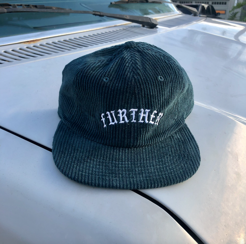 Old E Cord Hat (Green)