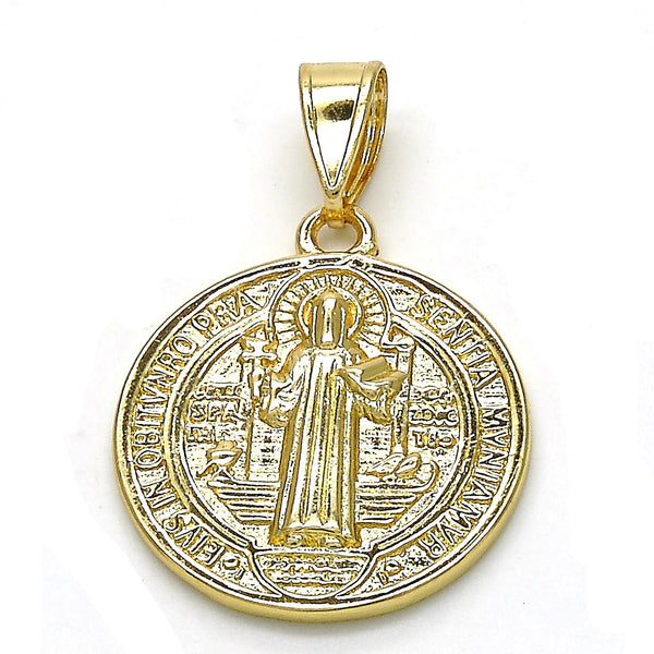 MD045 Saint Benedict Medal with chain