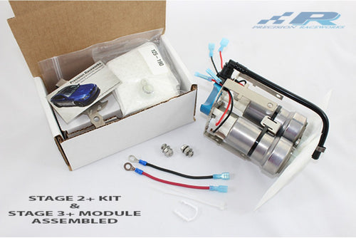 Precision Raceworks N54 Stage 4+ Fuel Pump Kit with Lines, Regulator and Wiring