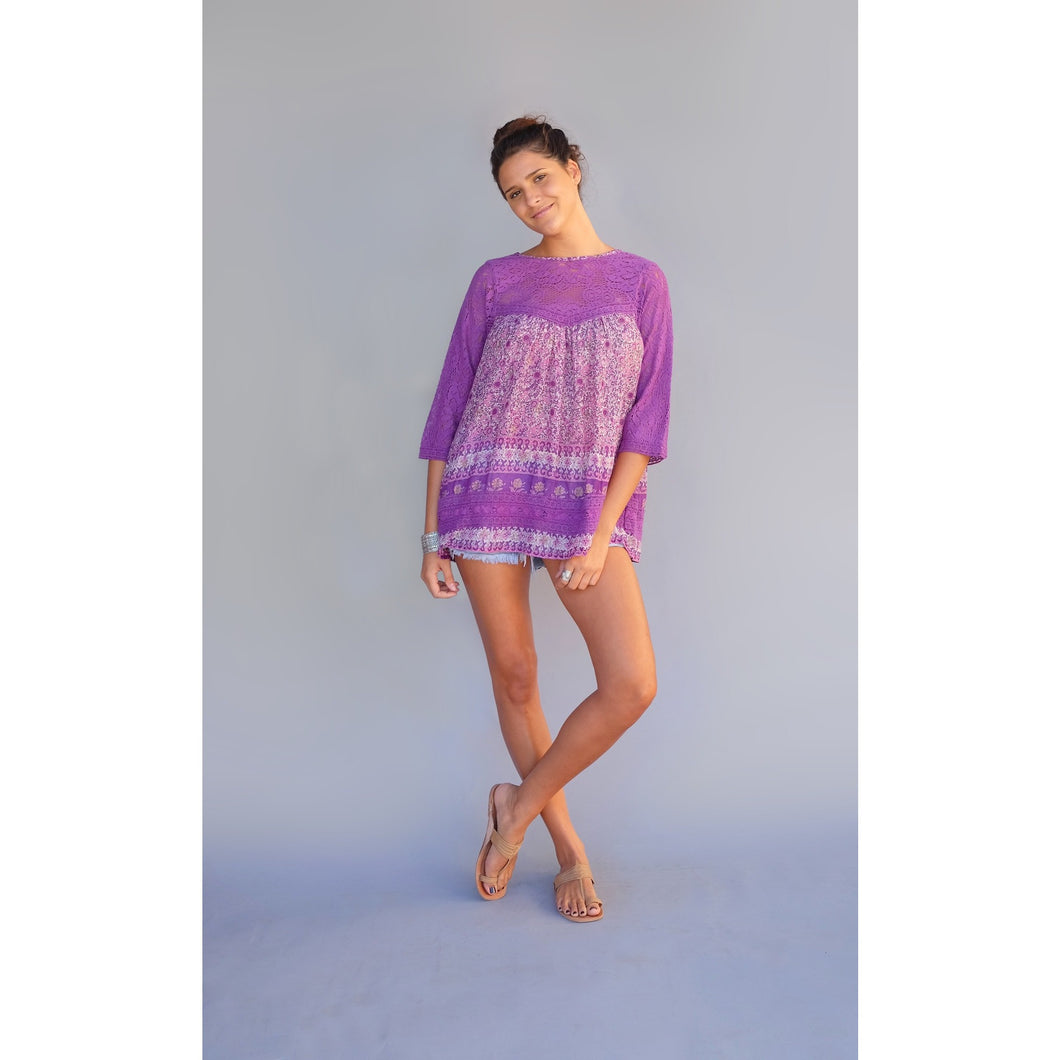 Venice Beach Tunic - Blue Boheme
