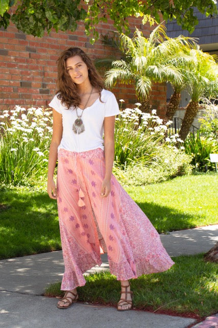 Alisson Printed Maxi Skirt