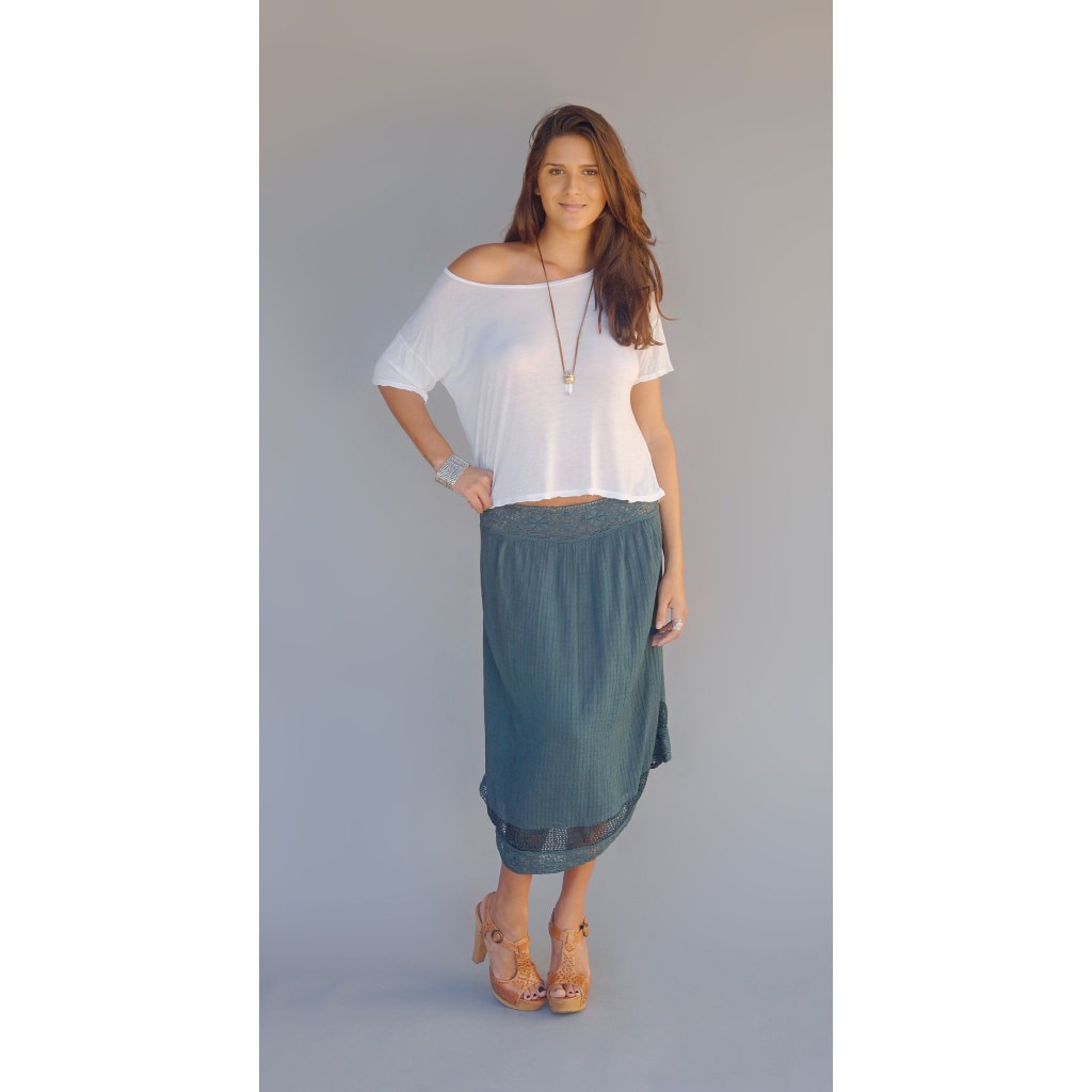 Amelia Skirt Or Dress Grey Skirts