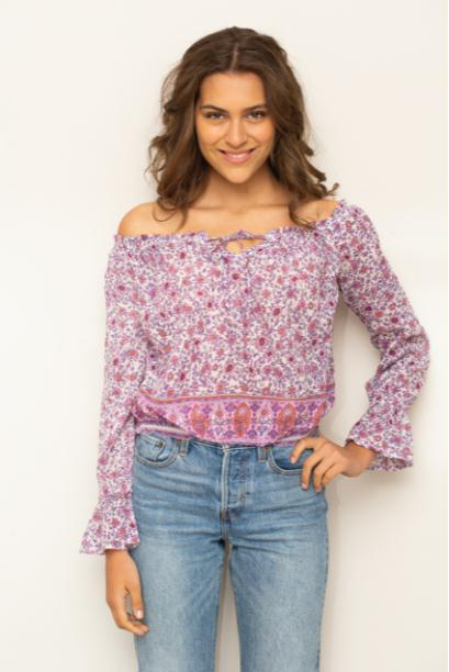 Bliss Blouse Off Shoulder