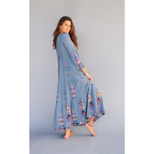 Rafaella Dress - Blue Boheme