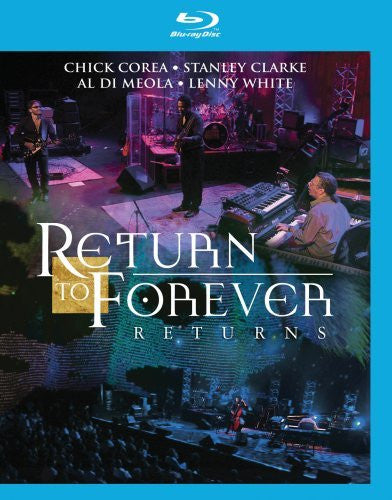 Return to Forever: Returns Live in Montreux 2008 Blu Ray