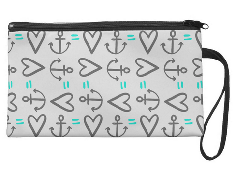 Anchor=Love Large Wristlet