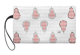 Abstract Pears Large Wristlet