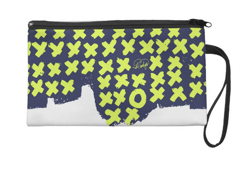 Kisses and Hugs Large Wristlet
