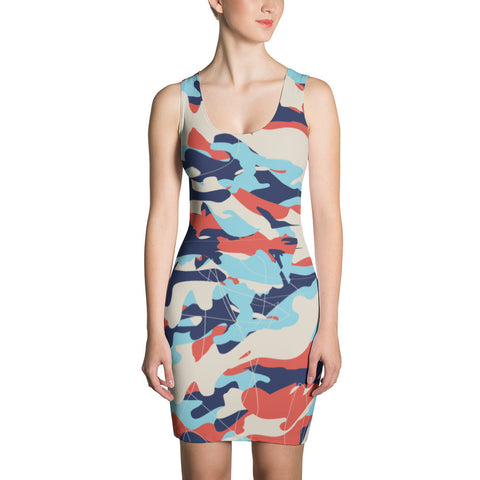 Colorful Chaos Sublimation Cut & Sew Dress