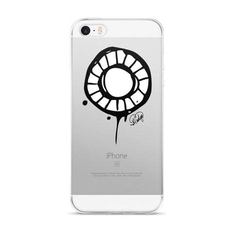 Abstract Circle iPhone on an 5/5s/Se, 6/6s, 6/6s Plus Case