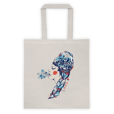 Blowing Life (Colorful Chaos) Tote Bag
