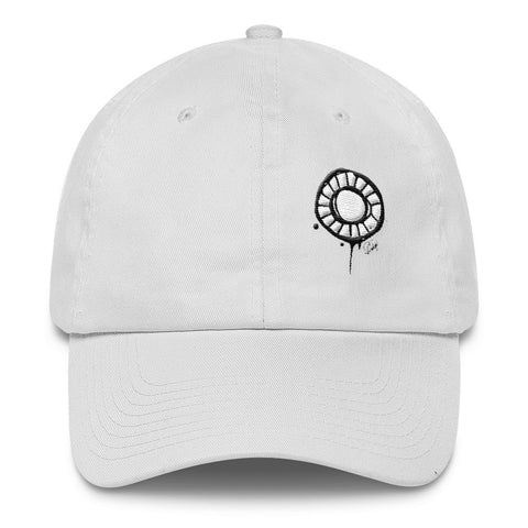 Abstract Circle on a Cotton Cap