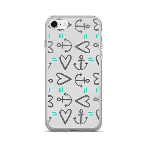 Anchor = Love on an iPhone 7/7 Plus Case