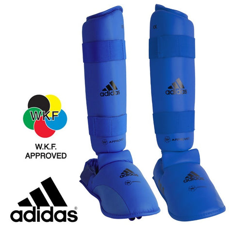 adidas Official WKF Approved Shin-n-Step Pad