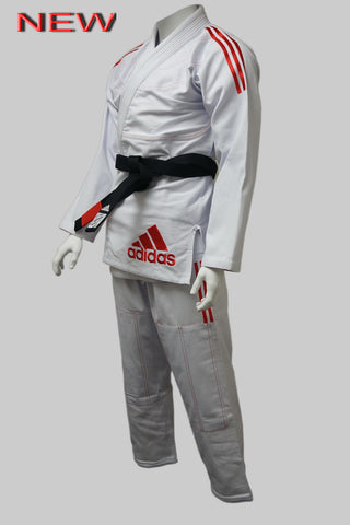 NEW Adidas IBJJF CONTEST 2.0 BJJ GI White