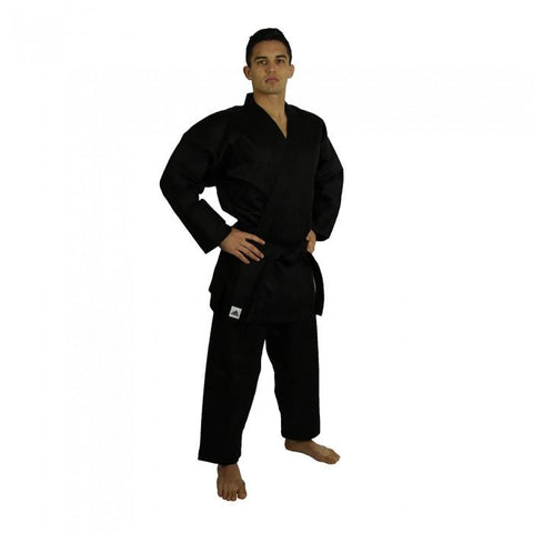 adidas Official WKF Approved Student Karate Black 8oz