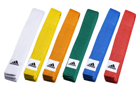 adidas KARATE / TaeKWONDO / JUDO RANK BELTS