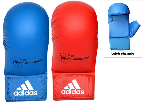 adidas Official WKF Approved Karate Mitt with Thumb