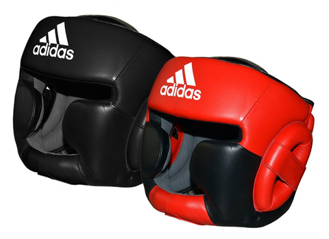 adidas Super Pro Head Guard Real Cowhide Leather