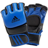 Adidas Professional MMA Gloves Real Leather BLUE