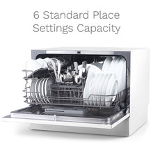 Load image into Gallery viewer, Compact Countertop Dishwasher