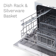 Load image into Gallery viewer, With dish rack and silverware basket