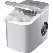 Load image into Gallery viewer, hOmeLabs Chill Pill Countertop Ice Maker - Perfect Ice in 8 to 10 Minutes - 26 Pounds Per Day Production To Keep You Iced Out Of Your Mind