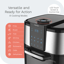 Load image into Gallery viewer, hOme air fryer oven is versatile with eight cooking modes