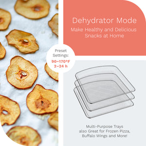 hOme air fryer oven dehydrator mode