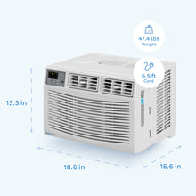 Load image into Gallery viewer, Window Air Conditioner - 8,000 BTU