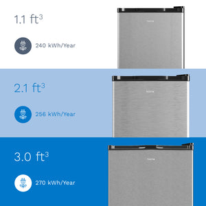 hOme cubic feet upright freezer is energy efficient