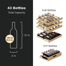 Load image into Gallery viewer, High-End Dual-Zone Wine Cooler - 43 Bottles Capacity