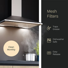 Load image into Gallery viewer, hOmeLabs 30 inches Stainless Steel Wall Mount Range Hood