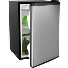 Load image into Gallery viewer, hOme 2.4 Cubic Feet Under Counter Mini Refrigerator with Small Freezer front view