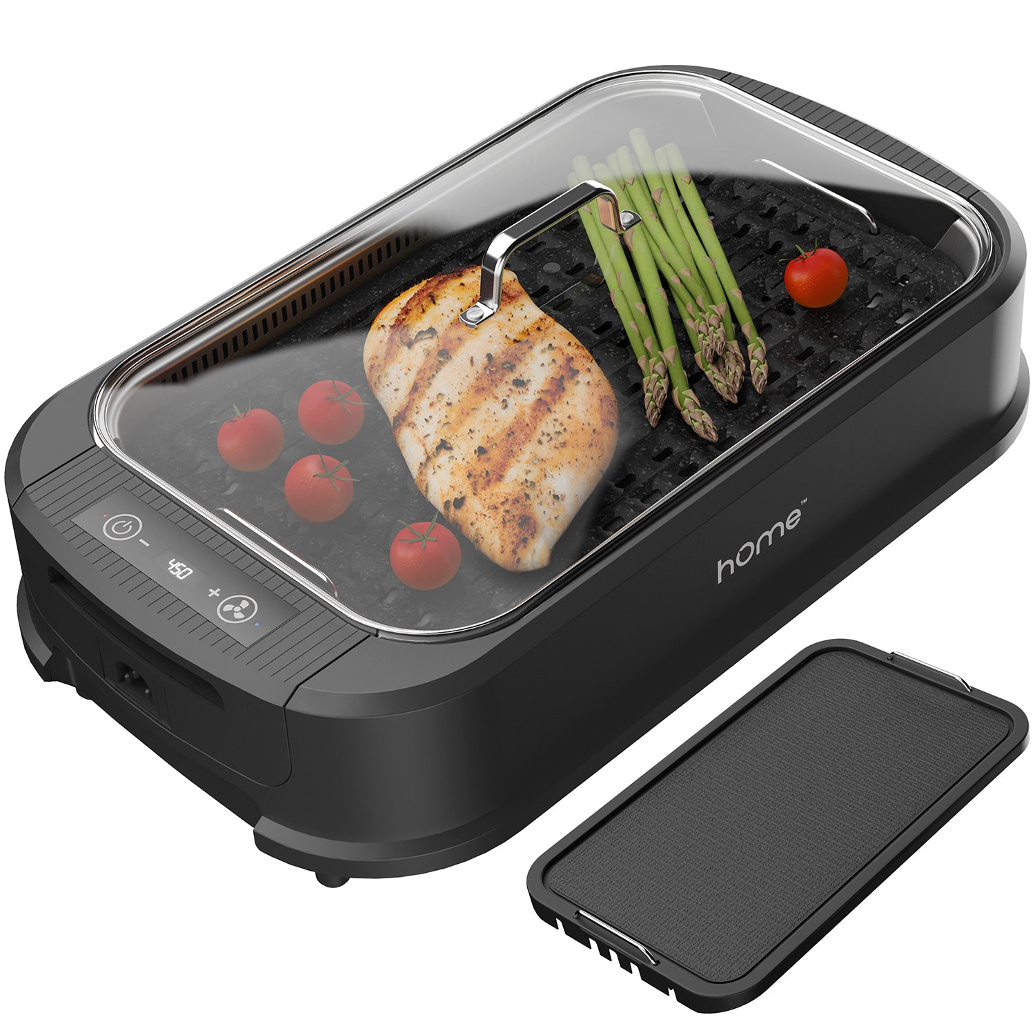 Smokeless Electric Indoor Grill Home