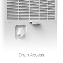Load image into Gallery viewer, white home 50 pint dehumidifier drain access