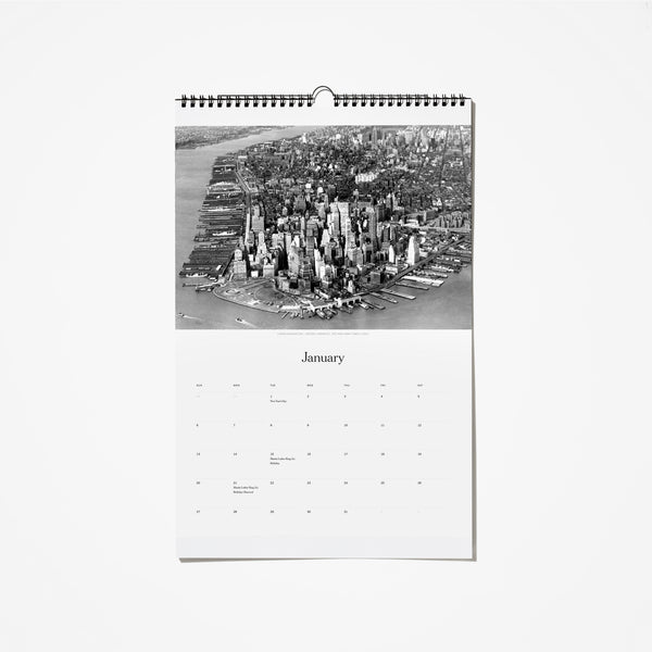 2019 Historical New York Calendar