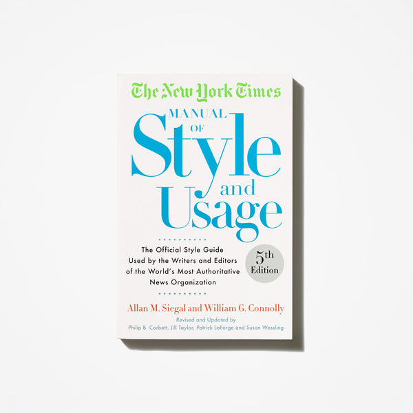 Manual of Style and Usage
