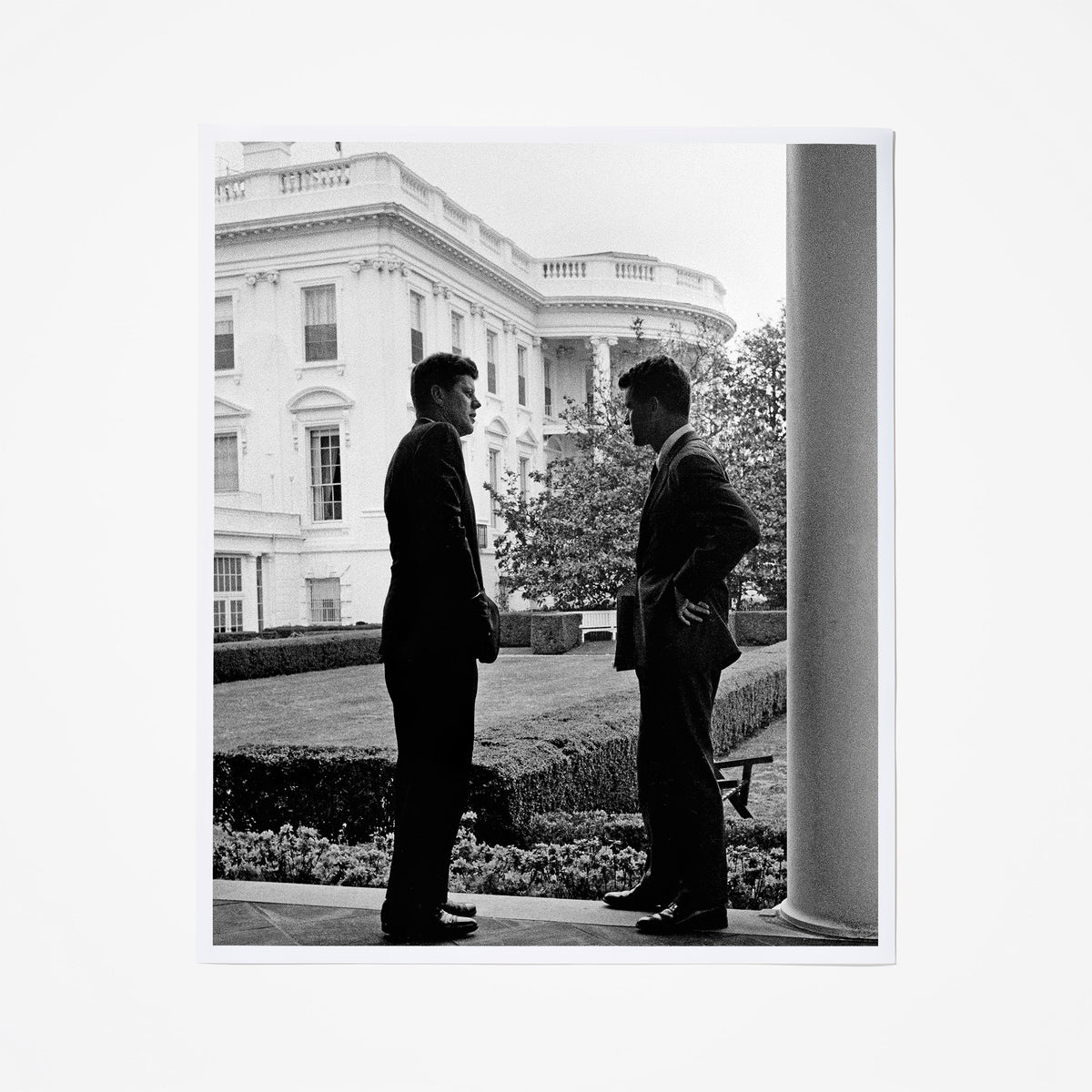Robert and John F. Kennedy
