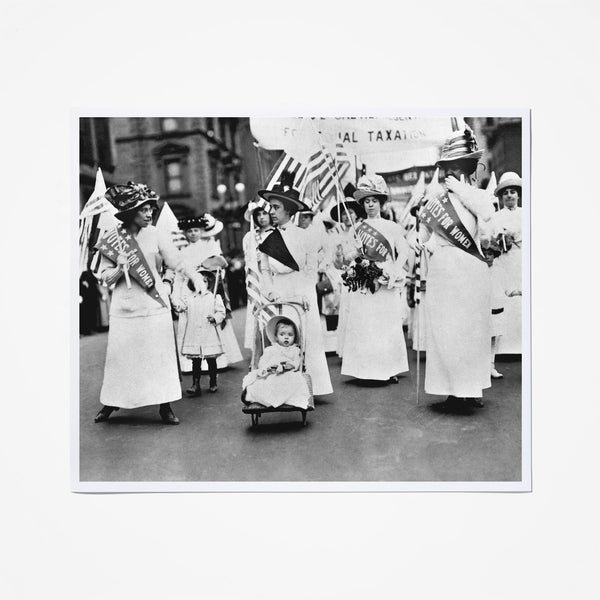 Suffragists Parade