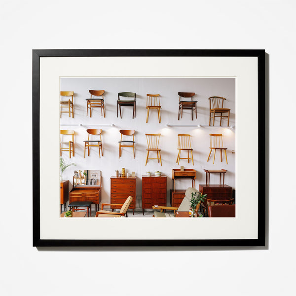 Chairs on Wall