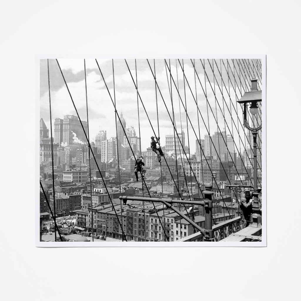 Painting the Brooklyn Bridge