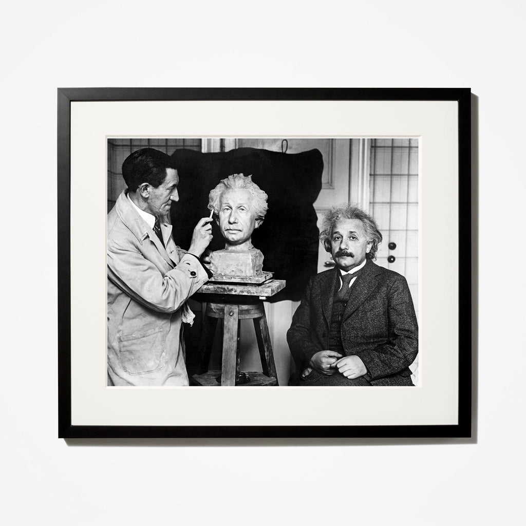 A Bust for Einstein