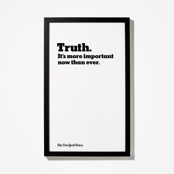 Truth Headline Poster