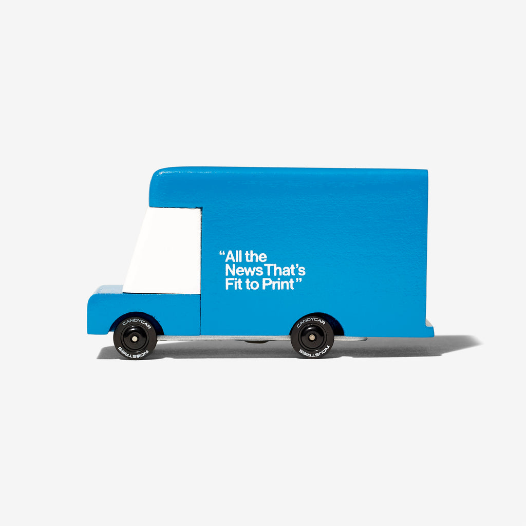 Wooden Delivery Van