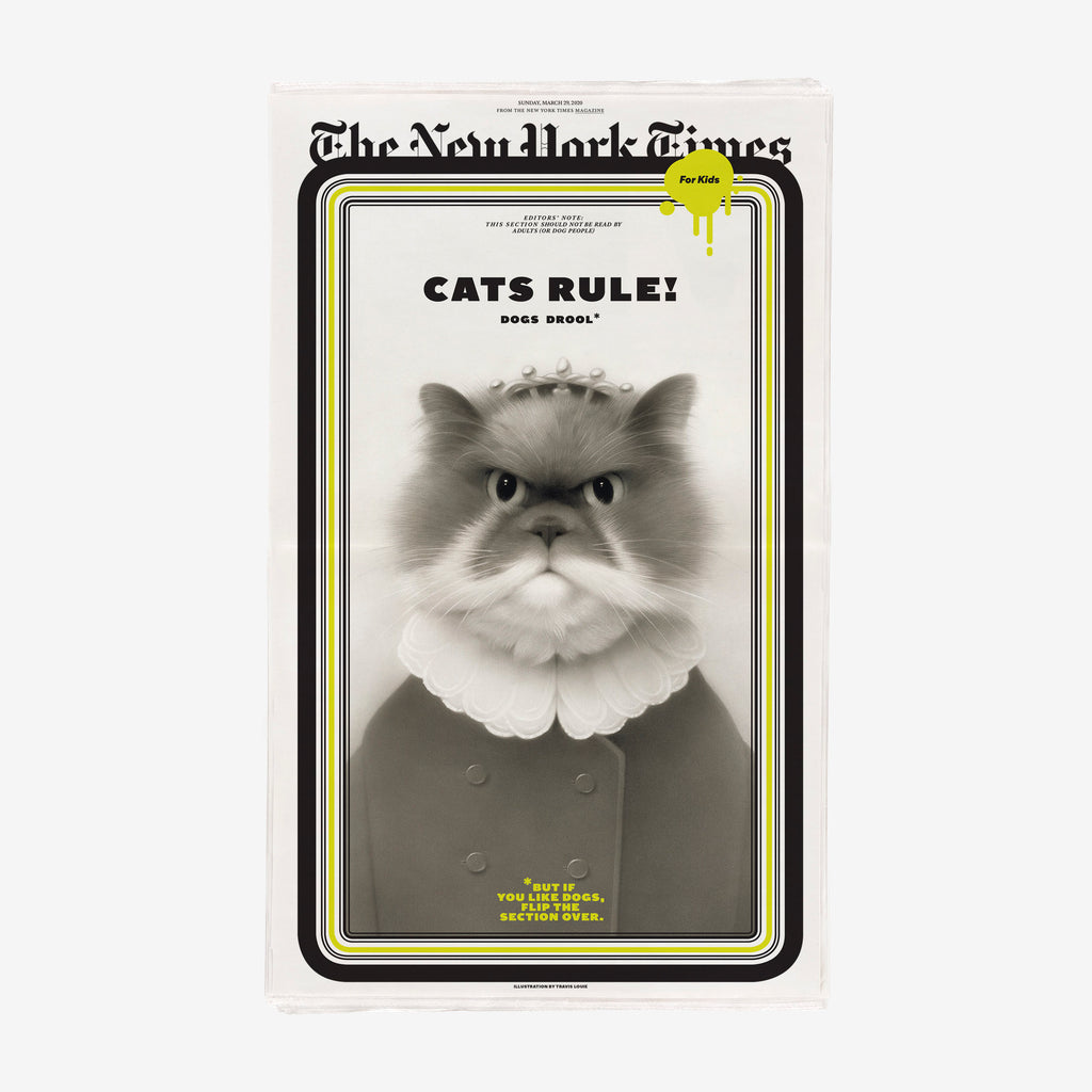 NYT for Kids: Cats and Dogs Issue