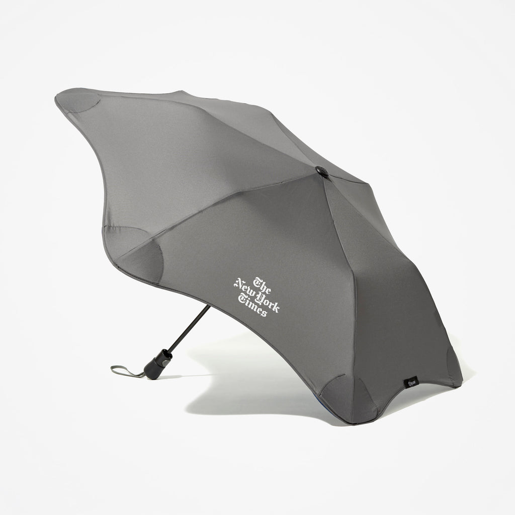 Stacked Logo Compact Umbrella