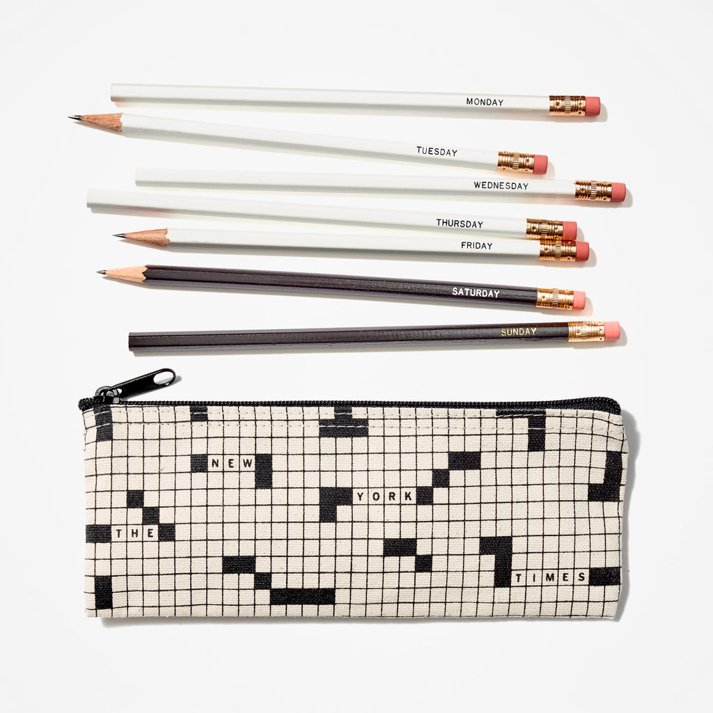 Crossword Pencil Set