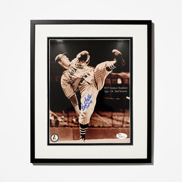 Bob Feller Signed Photo