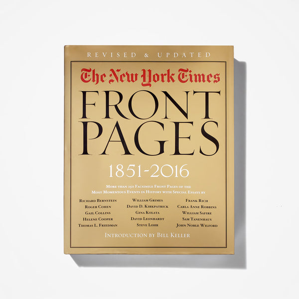 Front Pages (1851 - 2016)